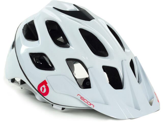 SixSixOne Recon Scout Helmet white/red